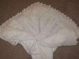 Handmade Baby Shawl / Blanket