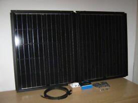 180w 2 x 90w Mono Solar Panel Kit for Caravan, Campervan or Motor Home 200w