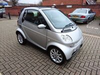 2004 SMART CITY 0.7 PASSION CABRIOLET LONG MOT ECONOMICAL ENGINE FULL SERVICE HISTORY CONVERTIBLE