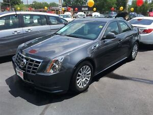 2012 CADILLAC CTS BASE - LEATHER HEATED SEATS, REMOTE START, SAT