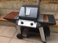 Outback Tungsten Propane Gas 2 Burner BBQ