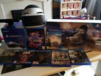Playstation VR bundle & 8 games