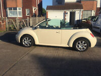 **PRICE REDUCED**2005 Volkswagen 1.6 Beetle Convertible