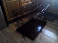 """Metal dog cage """" Buyer to collect """""""