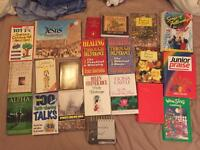 Various selection of Christian religious books used but good condition