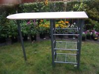 BREAKFAST BAR KITCHEN DINETTE, no CHAIRS, USED