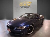 2008 BMW 6 Series 650CI Technology Executive Headsup Display Spo
