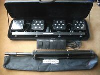 KAM Powerbar Stage Lights, great condition
