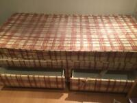 Free. Free. Free. Single divan bed with 2 drawers