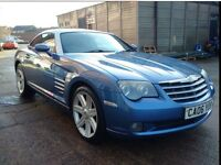 2006 CHRYSLER CROSSFIRE LIMITED 3.2 MANUAL 6 SPEED RARE AERO BLUE
