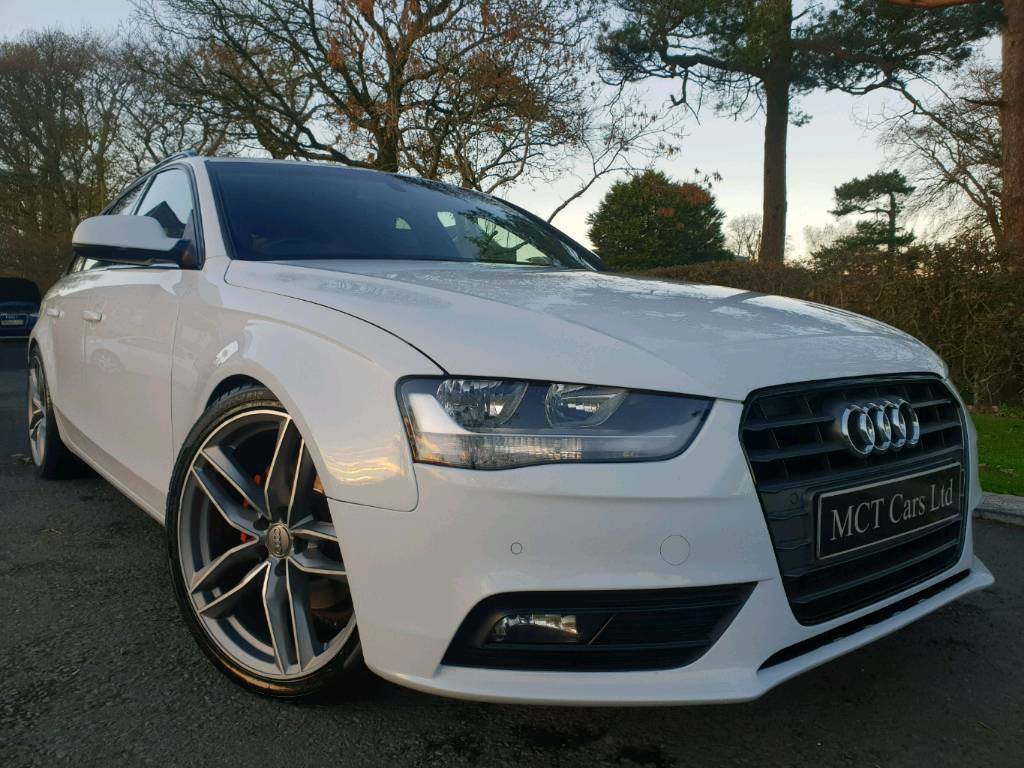 Oct 2014 Audi A4 20 Tdi Technik Avant Tech Pack Sat Nav 19 Inch