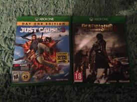 Just cause 3 and deadrising 4 (NOT 3)
