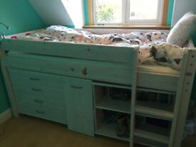 Childrens cabin bed great condition
