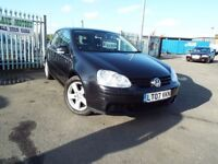 2007 GOLF 1.4 SPORT 11 MONTH MOT PX WARRANTY **FINANCE AVAILABLE**