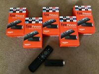 Amazon fire tv sticks (FREE DEMONSTRATION BEFORE YOU BUY) FREE UK DELIVERY
