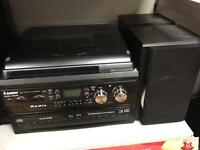STEEPLETONE SMC595 music system with recording