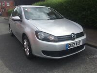 2012 Volkswagen Golf 1.6 TDI BlueMotion Tech Match One Company Owner From New Full Service History