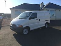 2003 Dec Toyota Hiace 2.5TD 280 S (Twin Rear Doors) Panel Van