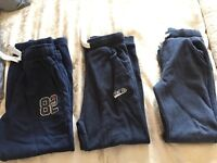 3 pairs of next jogging bottoms aged 8