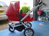 Full Travel system, birth to toddler, all components included, good condition