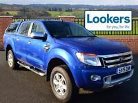 Ford Ranger LIMITED 4X4 DCB TDCI (blue) 2015-06-01