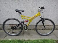 Giant Box two free ride series downhill mountain bike 26 in wheels 21 gears 18.5 in aluminium frame
