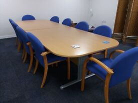 Boardroom Office Table and Chairs