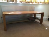Marks and Spencers Oak Coffee Table
