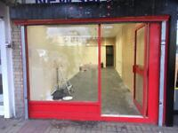 Empty shop to rent. Close to broad street , Fiveways . B168rp