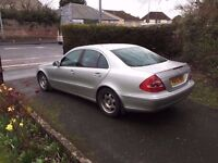 Mercedes E220 CDI (W211) 6-speed Manual Silver Saloon