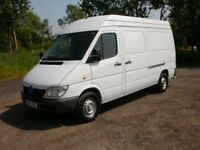 2000 MERCEDES SPRINTER 208CDI S/W/BASE HIGH ROOF 2 FORMER KEEPERS VERY CLEAN