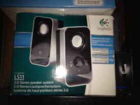 LOGITECH SPEAKERS FOR PC OR LAPTOP