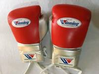 New winning leather boxing gloves in all oz and all colours