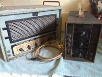2 very nice Early vintage valve amplifiers for Sale