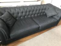 Made Branagh sofa and armchair in anthracite