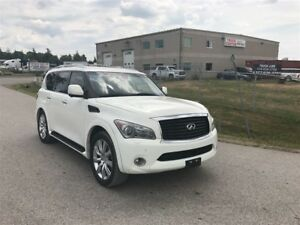 2011 Infiniti QX56 NAV / BIRDS EYE VIEW CAM / REAR DVD ENTERTIAN