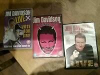 Jim Davidson DVDS (3)