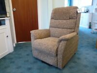 Careco rise and recliner chair for sale