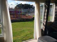 Abi Sunningdale static caravan 3 bed 6 berth 2015 on a kids park at Solent Breezes, Southampton.