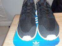 Mens Adidas Tubular Nova Black Trainer Size 8.5