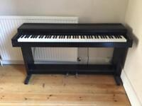 Yamaha electric piano - weighted keys and pedal