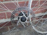 "FREE BRAKE DISC WITH FRONT ALLOY 26"" WHEELS £5,"
