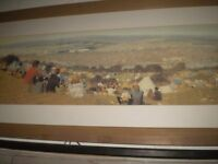 ISLE OF WIGHT FESTIVAL 1970 LARGE FRAMED FROM THE HILL