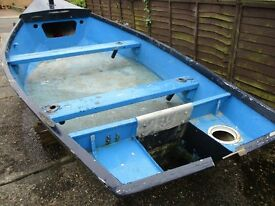16ft grp bass boat