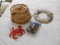 Nautical/Seaside garden decorative ornaments