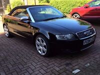 2004 AUDI S4 4.2 V8 CONVERTIBLE ***SPARES OR REPAIR STARTS AND DRIVES***