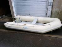 3m Harbour inflatable dinghy boat tender aluminium deck