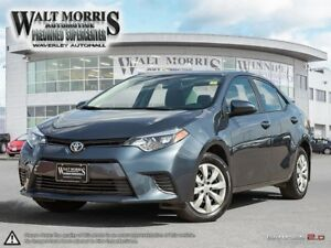 2016 Toyota Corolla LE: ONE OWNER, LOCAL VEHICLE, ACCIDENT FREE