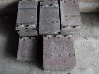 60 Redland roofing tiles