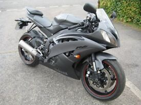 Yamaha R6 2013 in 2 tone flat grey, Low Miles!